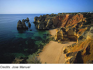 Algarve, Lagos Beach, Portugal